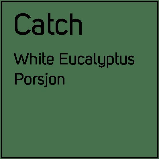 Catch White Eucalyptus Porsjonssnus