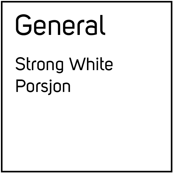 General Strong White Porsjonssnus