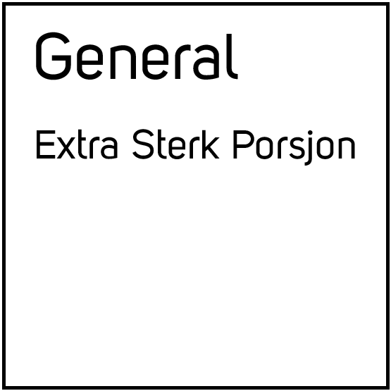 General Extra Sterk Porsjonssnus