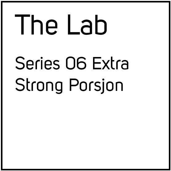 The Lab Series 06 Extra Strong Porsjonssnus