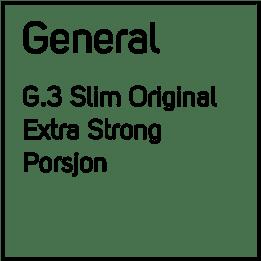 G.3 No1 Extra Strong Slim