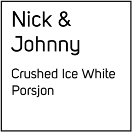 N&J No2 Crushed Ice White Extra Strong