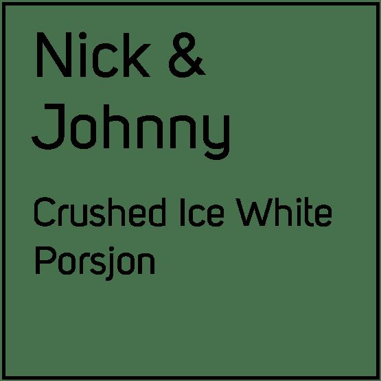 Nick And Johnny Crushed Ice White Porsjonssnus