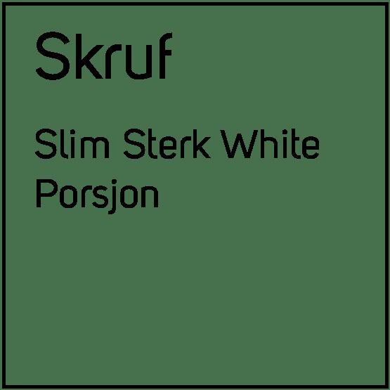 Skruf Slim Sterk White Porsjonssnus