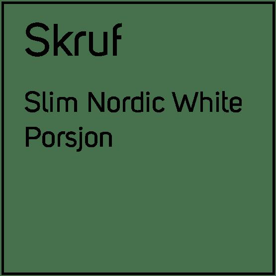 Skruf Slim Nordic White Porsjonssnus