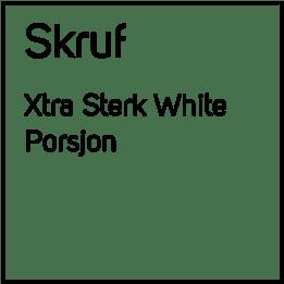 Skruf Xtra Sterk White #4