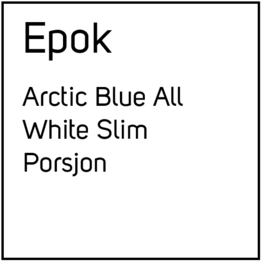 EPOK No2 Arctic Blue S2