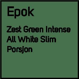 EPOK No3 Zest Green Intense S4