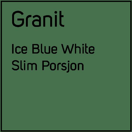 Granit Ice Blue White Slim Porsjonssnus