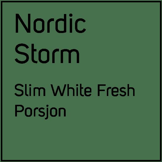 Nordic Storm Slim White FreshPorsjonssnus