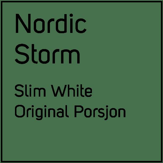 Nordic Storm Slim White Original Porsjonssnus