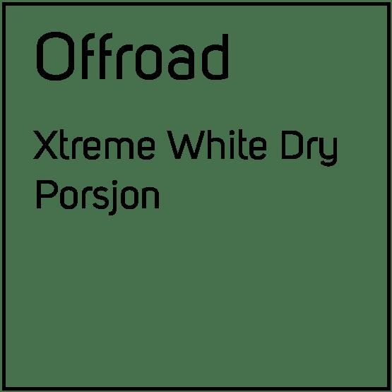 Offroad Xtreme White Dry Porsjonssnus