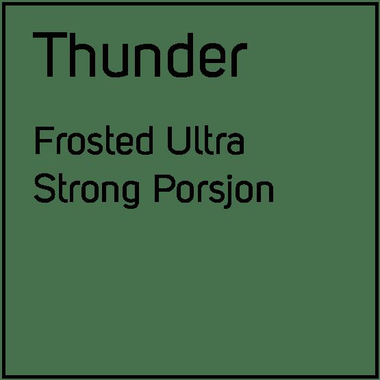 Thunder Frosted Ultra Strong Porsjonssnus