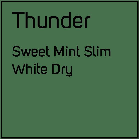 Thunder Sweet Mint Slim White Porsjonssnus