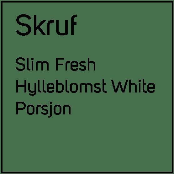 Skruf Slim Fresh Hylleblomst White Porsjonssnus