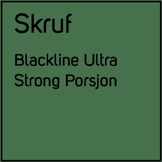 Skruf Blackline Ultra Strong Porsjonssnus