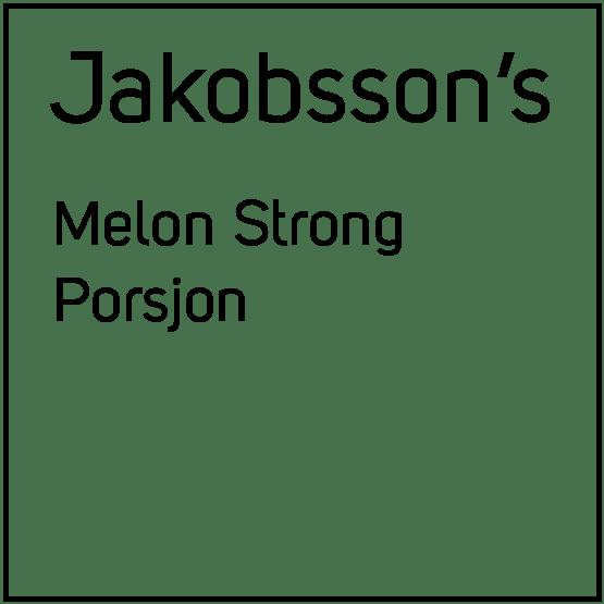 Jakobsson's Melon Strong Porsjonssnus
