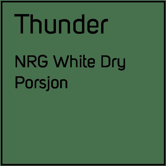 Thunder NRG White Dry Porsjonssnus
