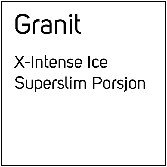 Granit X-Intense Ice superslim Porsjonssnus