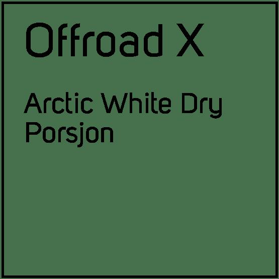 Offroad X Arctic White Dry Porsjonssnus