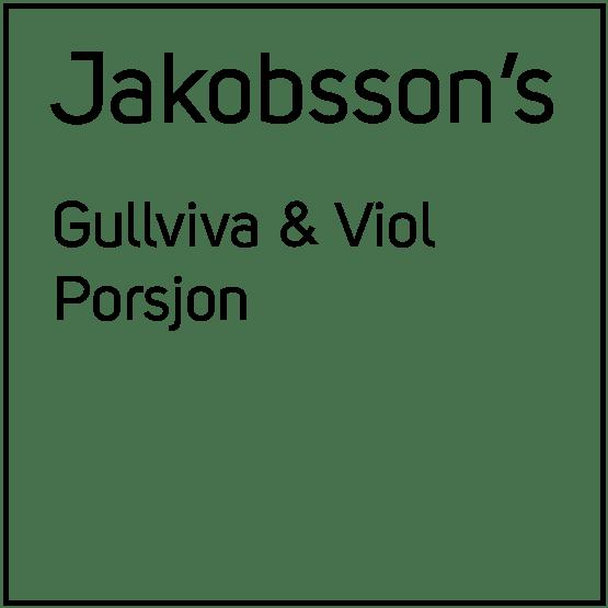Jakobsson's Gullviva & Viol Porsjonssnus