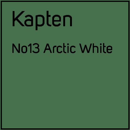 Kapten No13 Arctic White